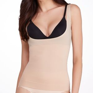Spanx Shape My Day Open Bust Camisole in Natural